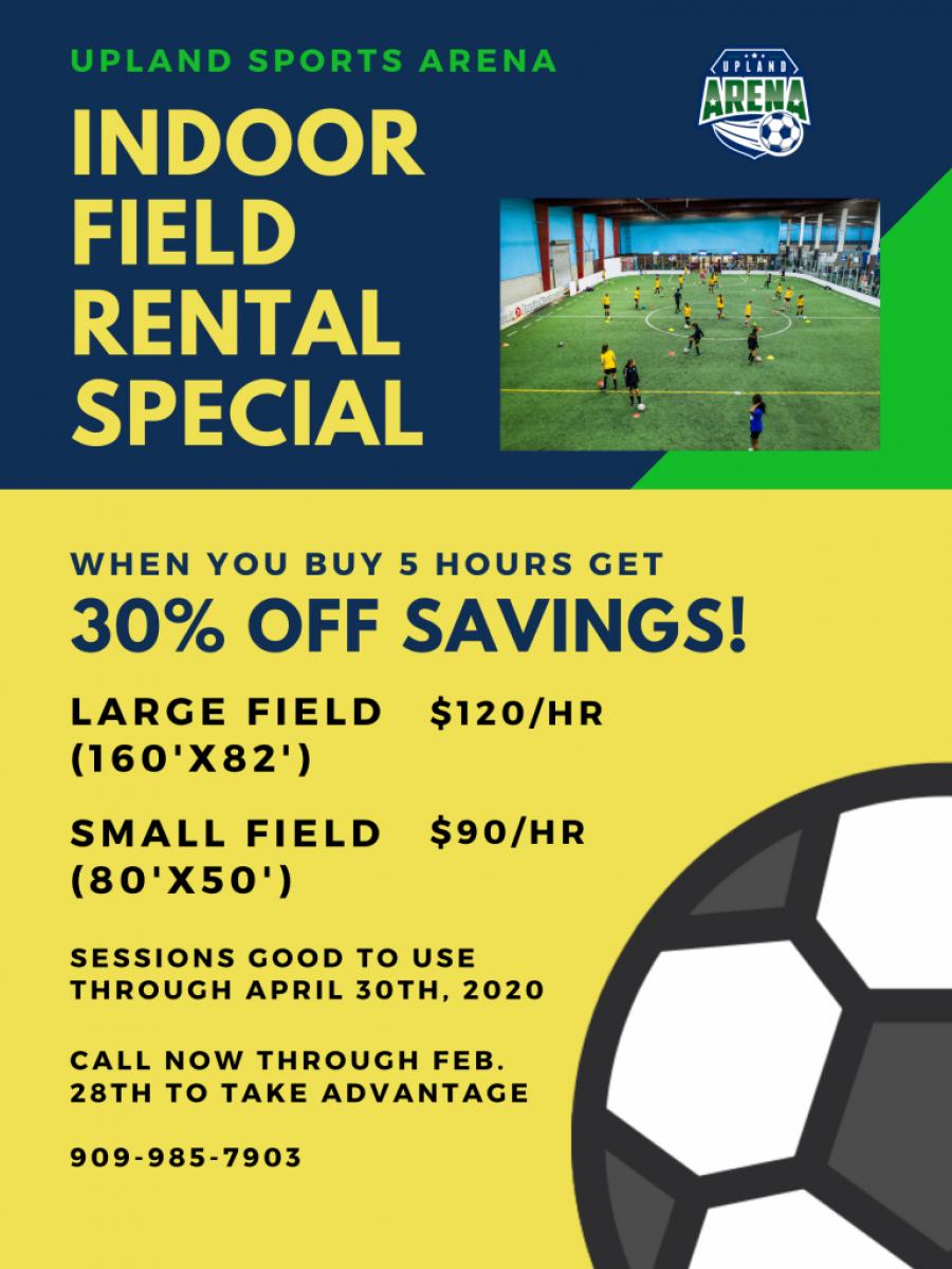 field rental special