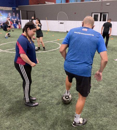 soccer skills training upland