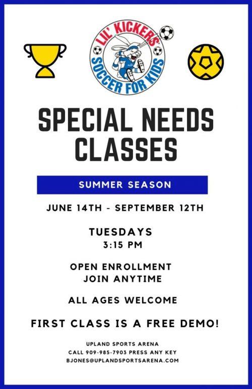 Arena special needs classes